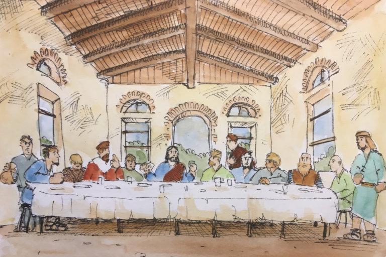 seine 12 Jünger / Das letzte Abendmah...