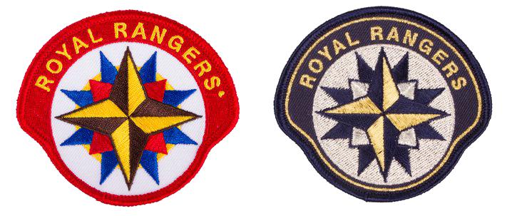 Emblem Royal Rangers Pfadfinderarbeit