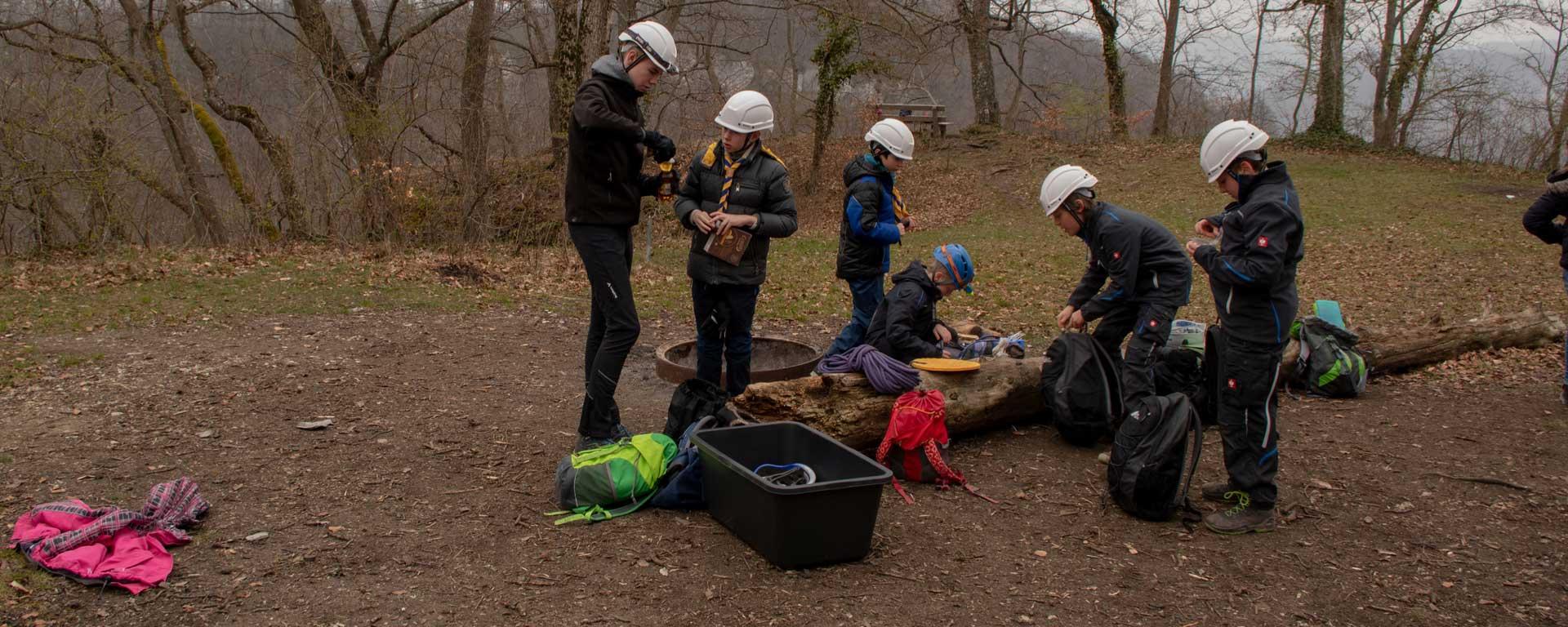 Abenteuer Höhlenerkundung