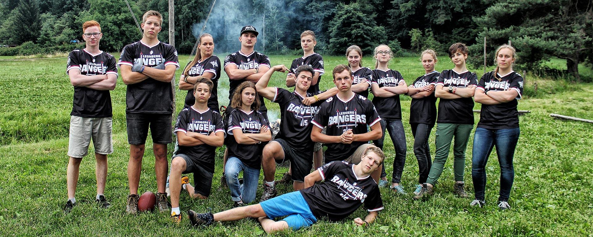 Das erste Team der RangerFootballLeague(RFL)