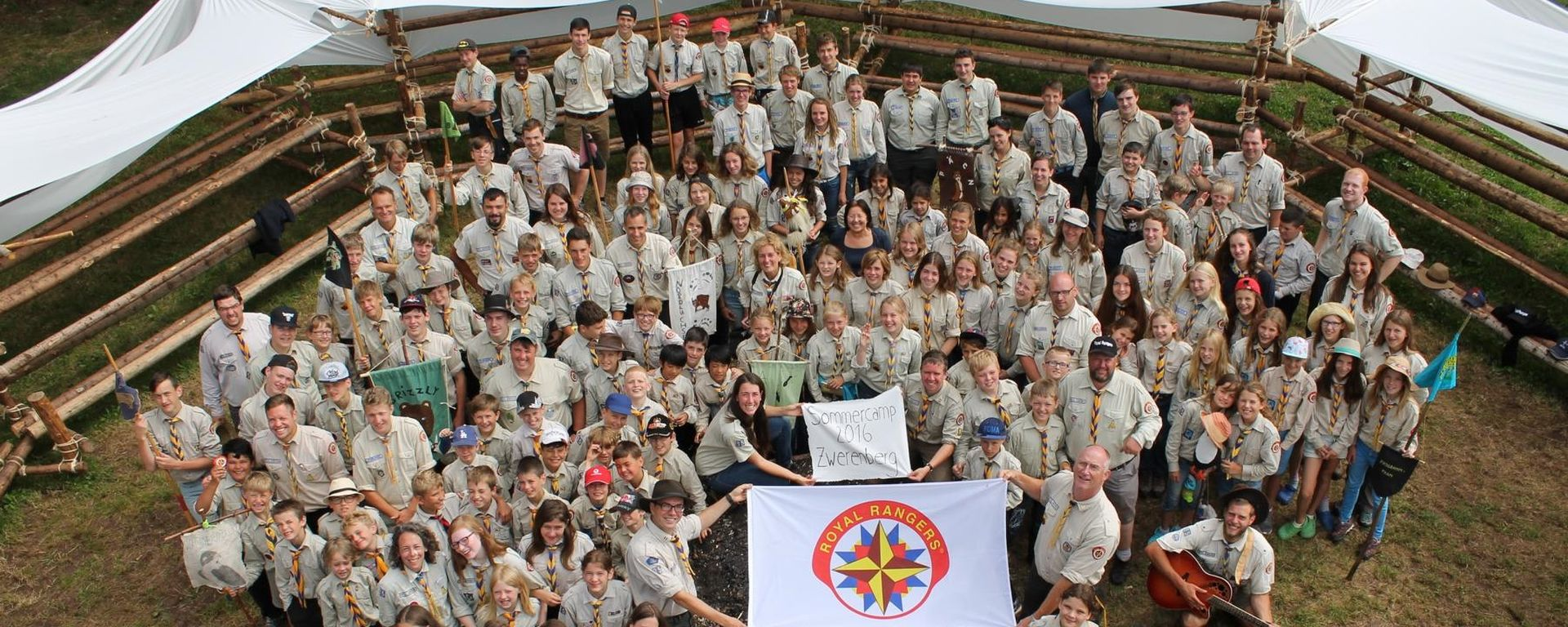 Sommercamp - ein Höhepunkt im Rangersjahr