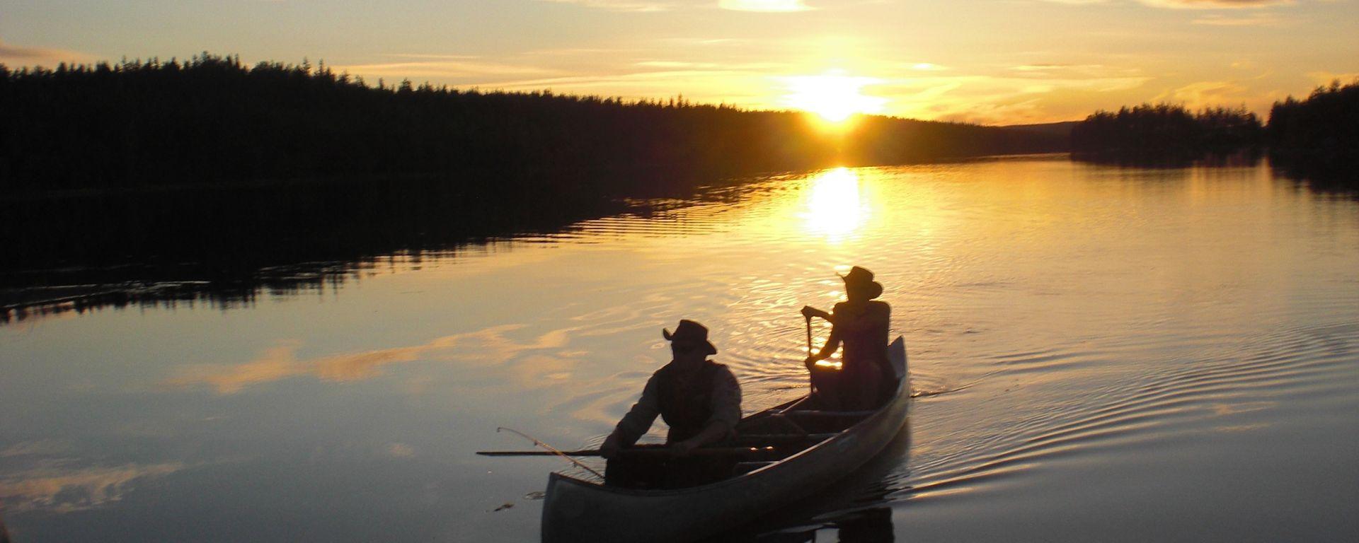 Im Kanu auf schwedischen Seen
