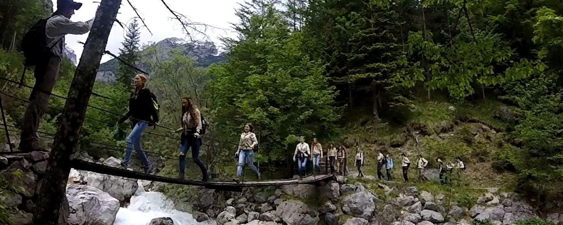 Abenteuer in Slowenien