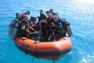 Schlauchboot Ägypten