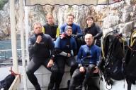 Boot Gruppenbild