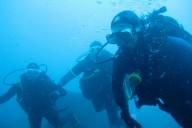 Taucher, Gruppe, Unterwasser