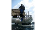 Boot, Sprung ins Wasser