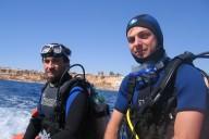 Ägypten, Taucher, Schlauchboot