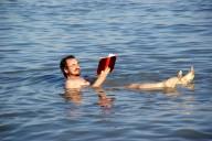 Werner im Toten Meer