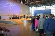 Sonntag: großer Gottesdienst im Gospelforum mit über 2000 Besuchern