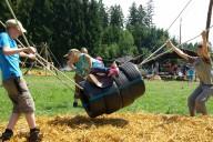 Spielgerät: Rodeopferd