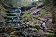 hinterer Hörschbachwasserfall / Murrhardt