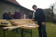 2015.03 Bau der Rolltische in Kornwestheim