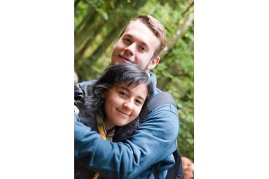 Jonathan und Sabrina - einfach schön, wie sie so strahlen!