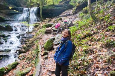 Am Ziel - hier ist der große Wasserfall.