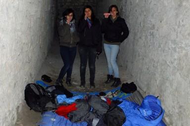 24h Aktion der Pfadranger #inmeinemschlafsackbinichimmerzuhause