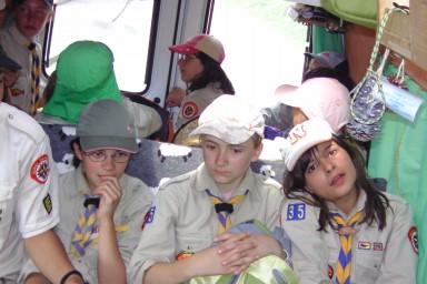 Wir erzählen uns ungelogen immernoch von dieser kurzen Autofahrt #Kundschafter #Sommercamp09