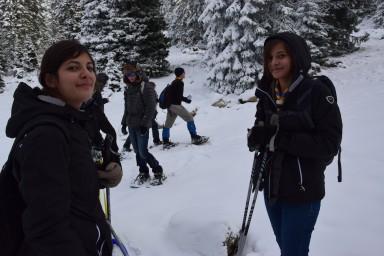 #Pfadrangerwintercamp2016 #Schneeschuhwanderung