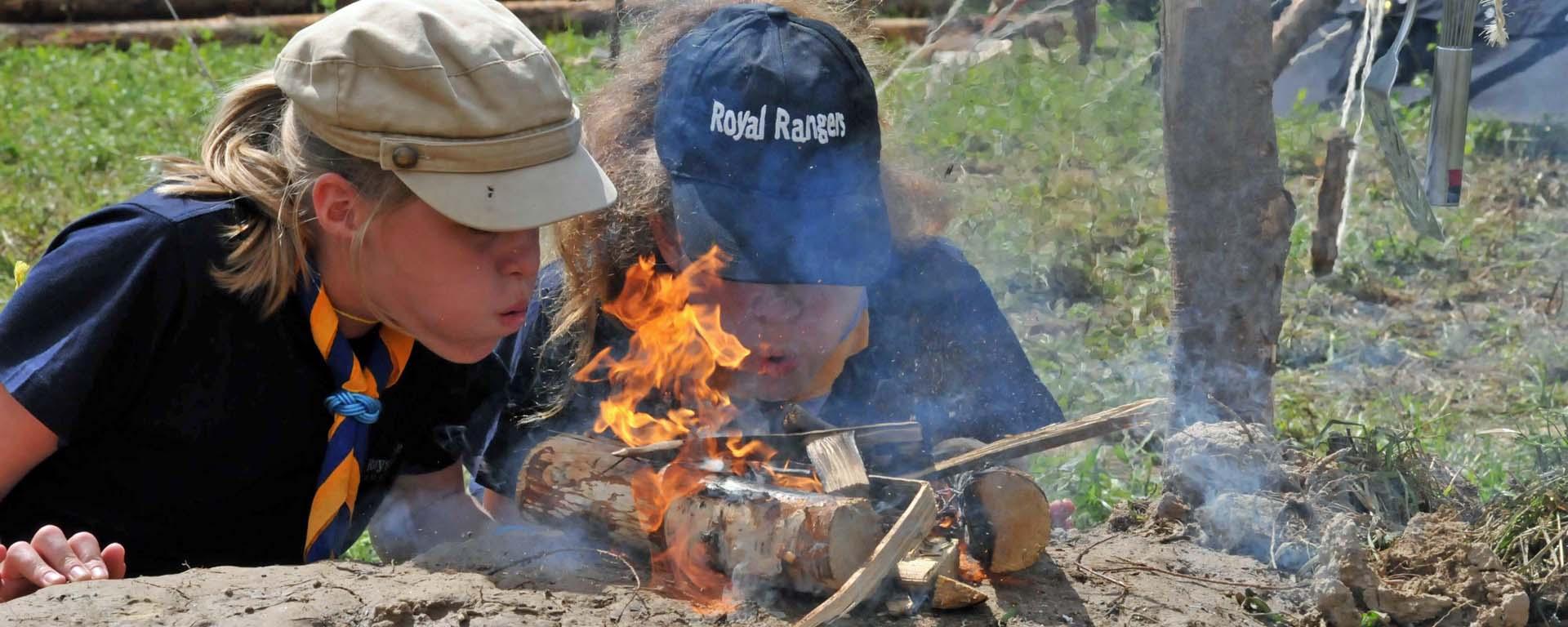 Feuermachen will gelernt sein